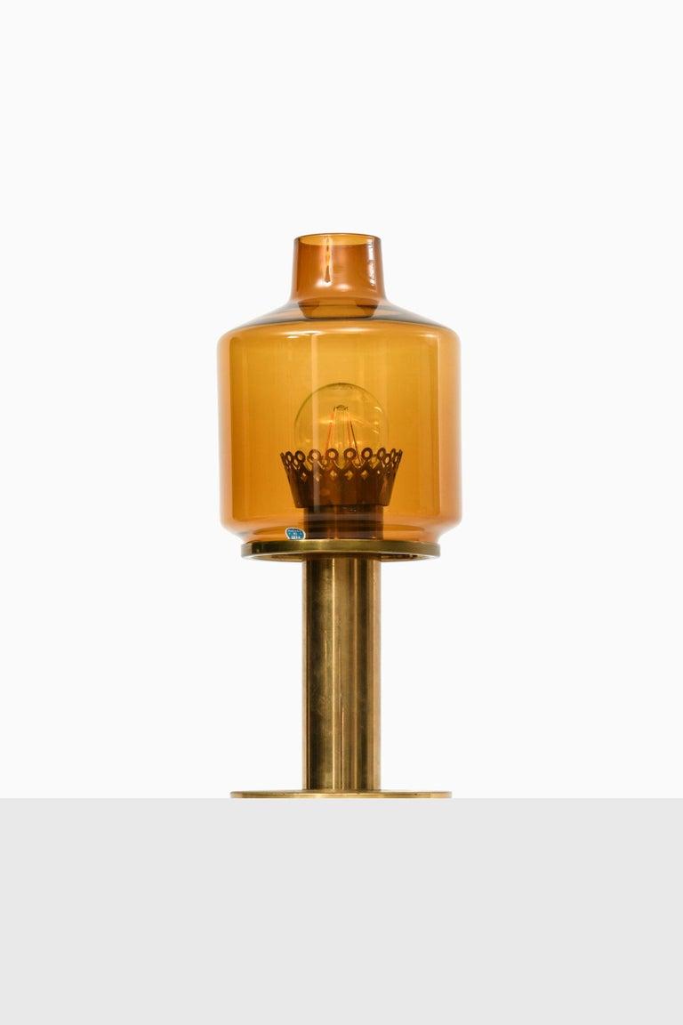 Brass Hans-Agne Jakobsson Table Lamp B-102 by Hans-Agne Jakobsson AB in Markaryd For Sale