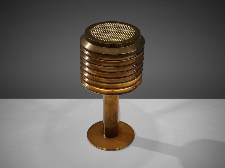 Mid-20th Century Hans-Agne Jakobsson Table Lamp in Brass For Sale