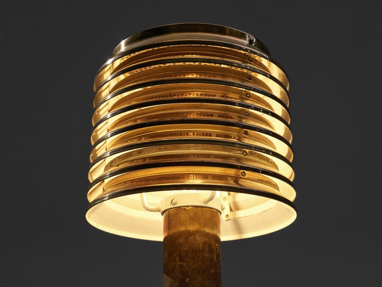 Hans-Agne Jakobsson Table Lamp in Brass For Sale 1