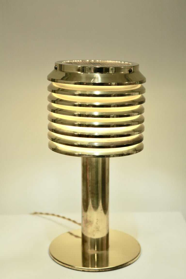 Hans-Agne Jakobsson, Table Lamp in Brass, Model B 142, Sweden 1960s In Good Condition For Sale In Hamburg, Hamburg