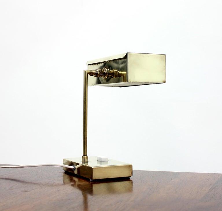 Brass Hans-Agne Jakobsson Table Lamp Model 2201 for Elidus For Sale