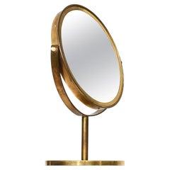 Hans-Agne Jakobsson Table Mirror by Hans-Agne Jakobsson AB in Markaryd, Sweden