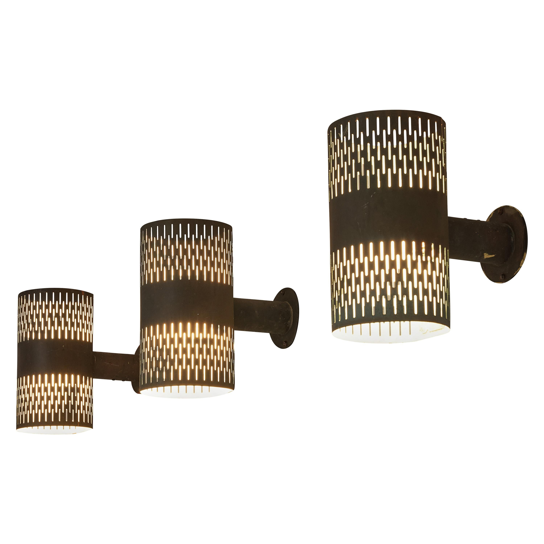 Hans-Agne Jakobsson Wall Lights in Copper