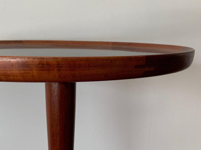 Hans Andersen Danish Side Table In Good Condition For Sale In St.Petersburg, FL