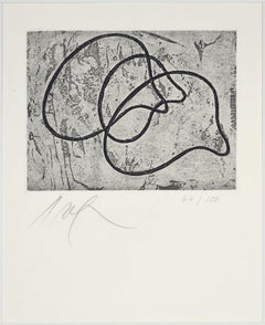 Untitled - Original Etching by Jean Hans Arp - 1960s