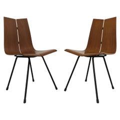 "Hans Bellman Pair of Teak ""GA"" Chairs, 1954"