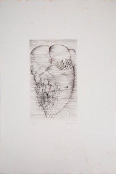 Carnal Pleasure - Original Etching Handsigned and Numbered