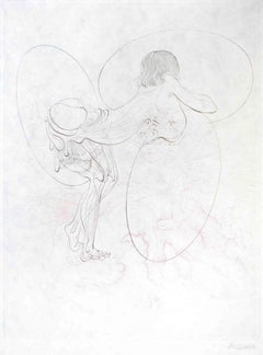 Juliette ou les Prospérités du Vice - Original Etching by H. Bellmer - 1968
