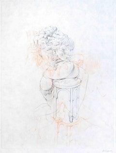 La Philosophie dans le Boudoir - Original Etching by H. Bellmer - 1968