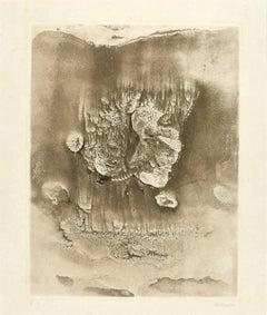 Les Mariés - 1968 - Hans Bellmer - Etching - Contemporary