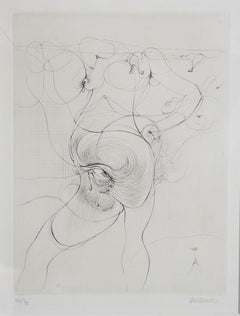 The Body and Eye, Etching by Hans Bellmer