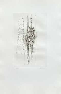 The Ropes - Original Etching Hand Signed Numbered - 100 copies