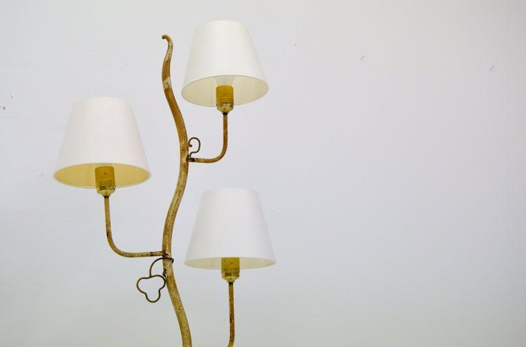 Mid-Century Modern Hans Bergström Atelje Lyktan Floor Lamp For Sale
