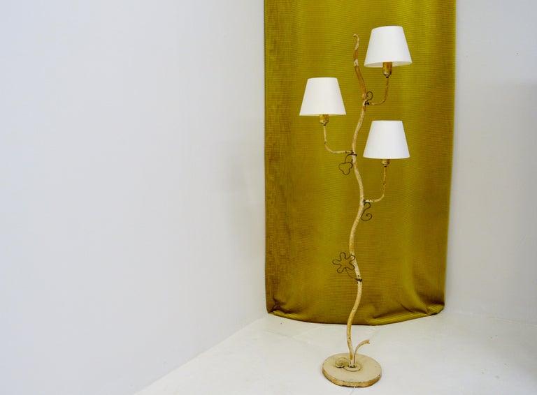 Swedish Hans Bergström Atelje Lyktan Floor Lamp For Sale
