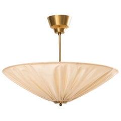 Hans Bergström Ceiling Lamp / Flush Mount by Ateljé Lyktan in Åhus, Sweden