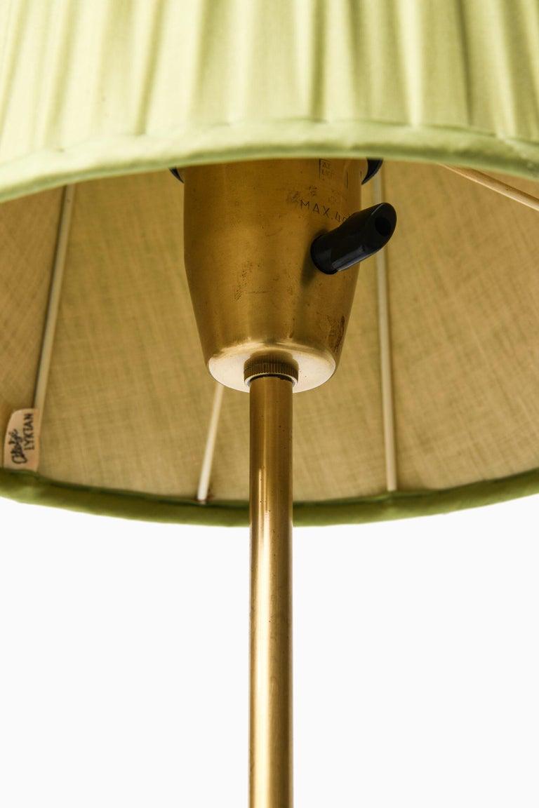 Mid-20th Century Hans Bergström Floor Lamp Model 544 Produced by Ateljé Lyktan in Åhus, Sweden For Sale