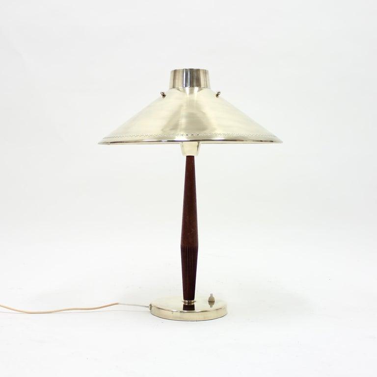 Scandinavian Modern Hans Bergström, Table Lamp, ASEA, 1950s For Sale
