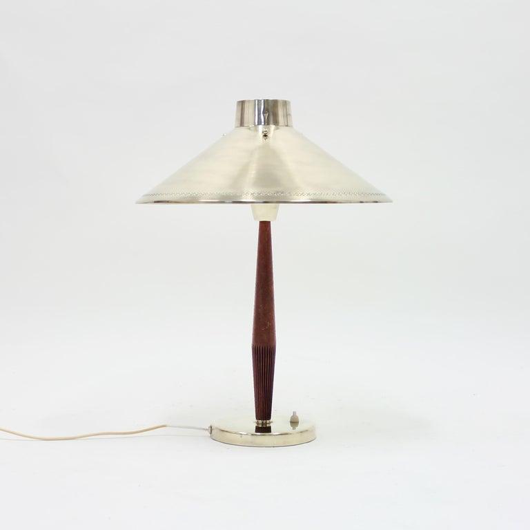 Swedish Hans Bergström, Table Lamp, ASEA, 1950s For Sale