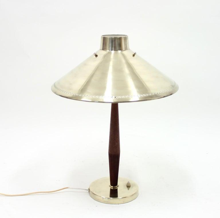 Hans Bergström, Table Lamp, ASEA, 1950s For Sale 1