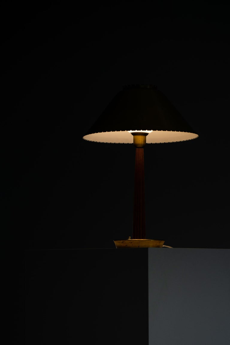 Hans Bergström table lamp produced by ASEA in Sweden For Sale 5