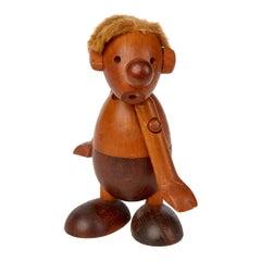 Hans Bolling Danish Strit Wooden Toy for Oskov & Co., circa 1954