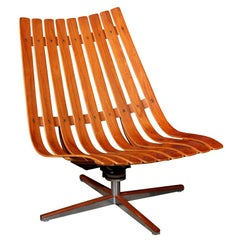 Hans Brattrud Pivot Lounge Chair for Hove