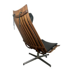 "Hans Brattrud Rosewood ""Scandia"" Lounge Chair for Hove Mobler"
