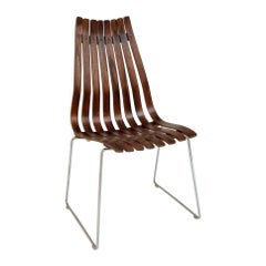 Hans Brattrud Scandia Chair for Hove Mobler, circa 1956, Norway