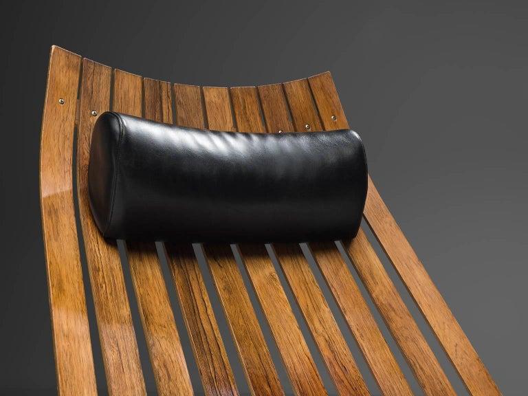 Norwegian Hans Brattrud 'Scandia' Chair in Rosewood