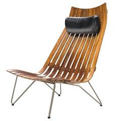 Hans Brattrud 'Scandia' Chair in Rosewood