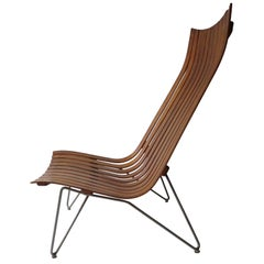 Hans Brattrud 'Scandia' Lounge Chair by Hove Møbler, Scandinavian design 1957
