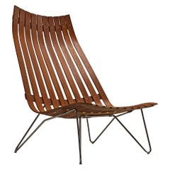 Hans Brattrud 'Scandia' Lounge Chair in Rosewood