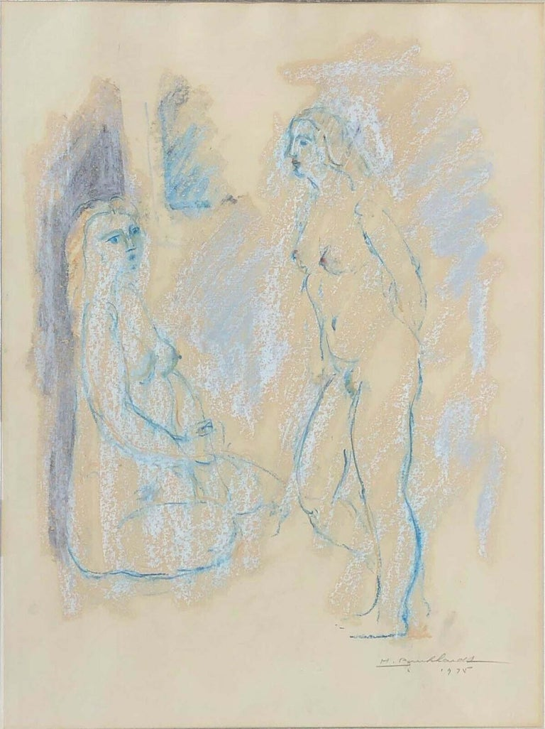Hans Burkhardt Nude - Two Models