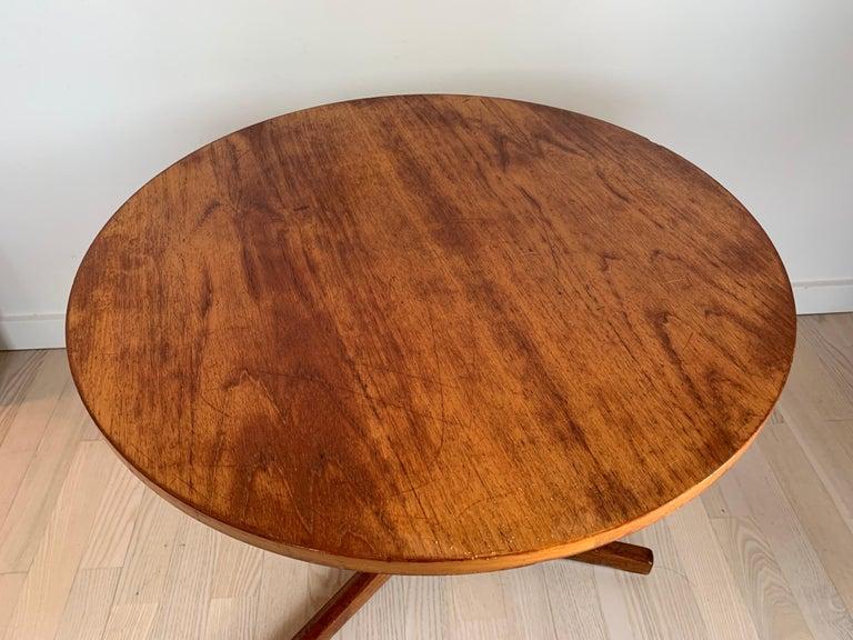 Hans C Andersen Teak Coffee Table, 1950s In Good Condition For Sale In Copenhagen, DK