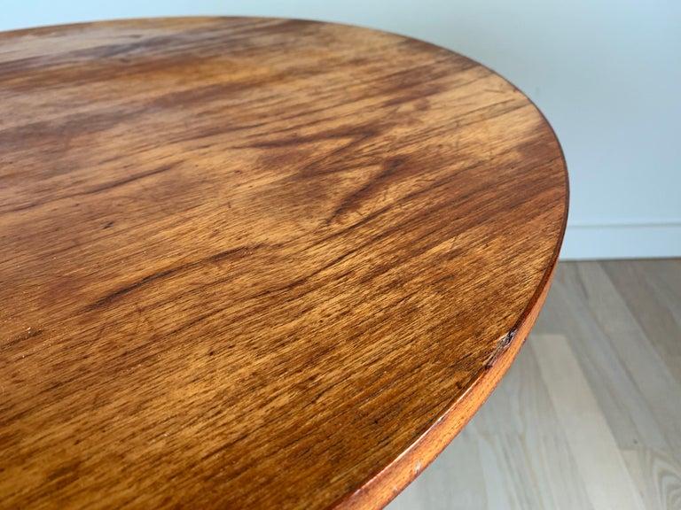 Hans C Andersen Teak Coffee Table, 1950s For Sale 1