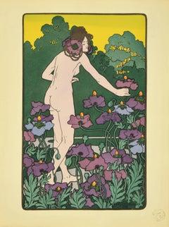L'heure du Berger  - Original Lithograph - 1898