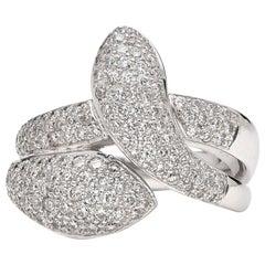 Hans D. Kreiger Diamond Snake Ring