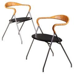 Hans Eichenberger Saffa HE-103 Chair for Dietiker, 1955, Switzerland