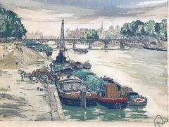 """On the Seine, Paris"""