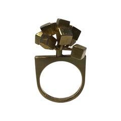 Hans Hansen 14 Ct Gold Ring Modern Ring