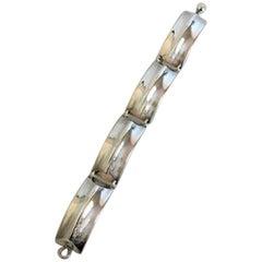 Hans Hansen Sterling Silver Bracelet