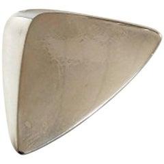 Hans Hansen Sterling Silver Brooch No 116
