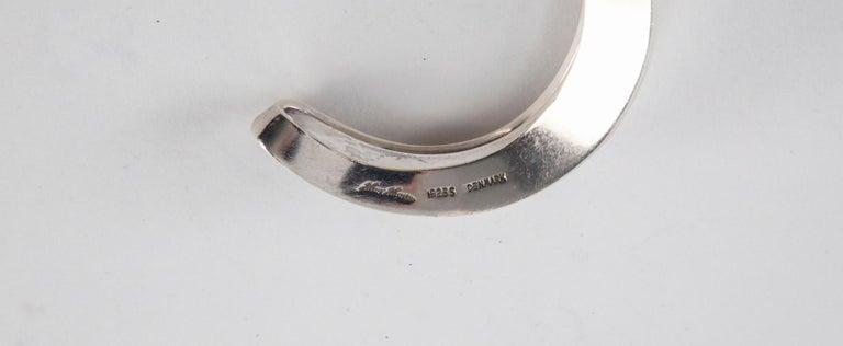 Hans Hansen Sterling Silver Cuff For Sale 4