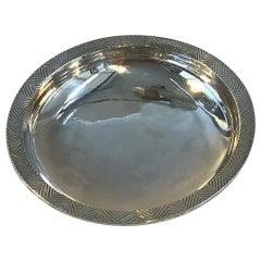 Hans Hansen Sterling Silver Dish