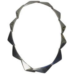 Hans Hansen Sterling Silver Necklace No 315