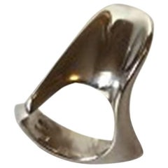 Hans Hansen Sterling Silver Ring