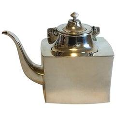 Hans Hansen Sterling Silver Tea Pot No 454, from 1972