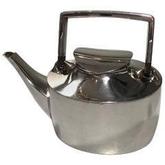Hans Hansen Sterling Silver Tea Pot No 498 Karl Gustav Hansen