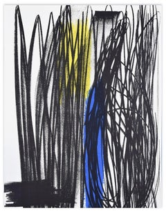Influence - Original Lithograph by Hans Hartung - 1975