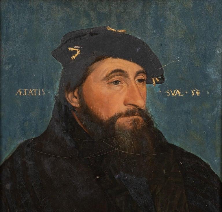 Portrait Of Antoine Le Bon Duke of Lorraine Count of Lotharingen (1489-1544) - Painting by Hans Holbein